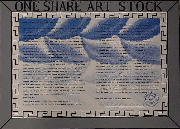 One Share Art Stock